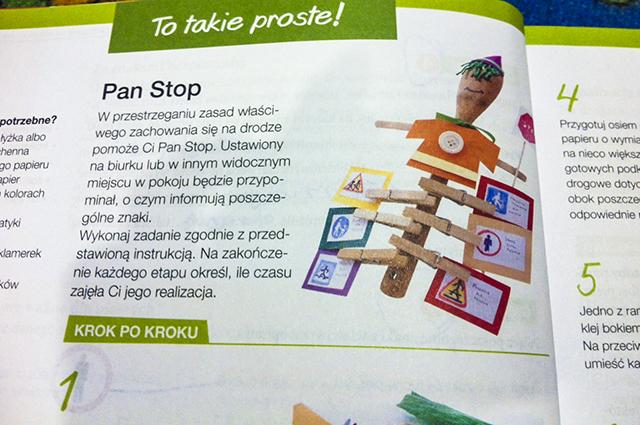 książka do techniki Pan Stop