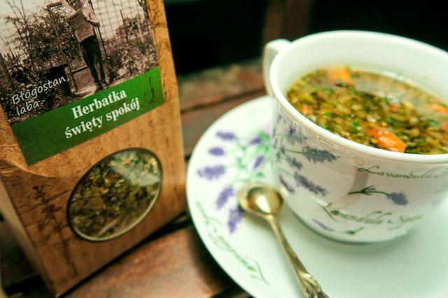 herbatka na uspokojonie