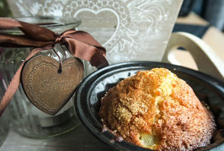 Przepis na muffinki gruszkowo – imbirowe