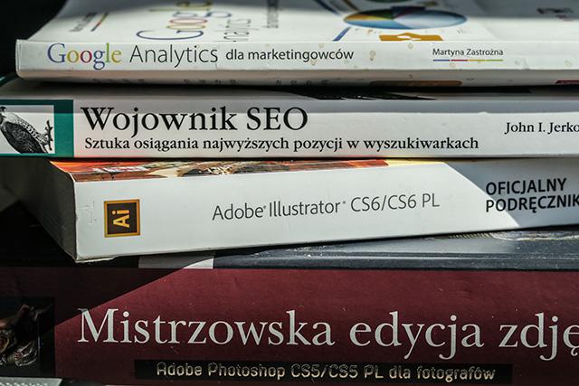 książki pomocne przy prowadzeniu bloga