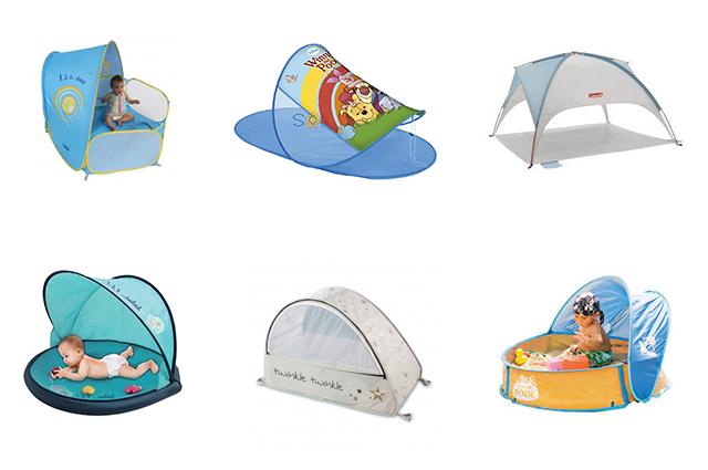 plaża--namioty