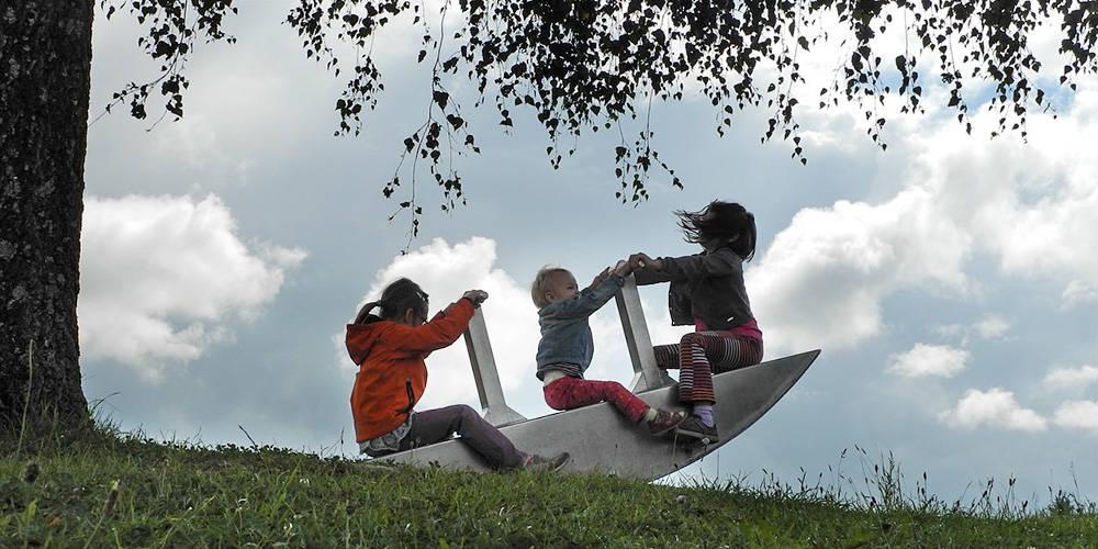 O zasadach przy trójce dzieci