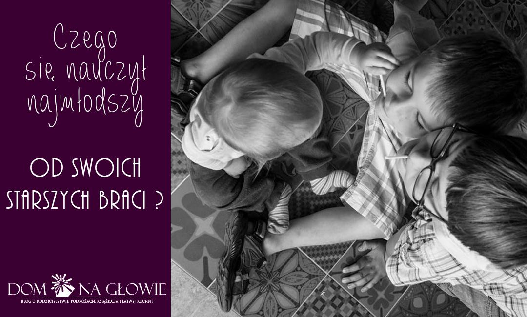 Najmłodszy w rodzinie – czego nauczy się od starszego rodzeństwa?
