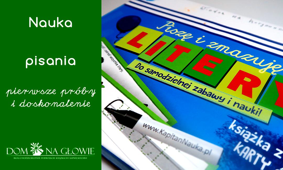 Przygotowanie do nauki pisania – nauka literek dla dzieci
