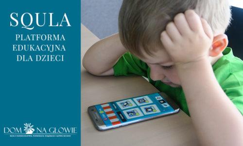 Squla - platforma edukacyjna dla dzieci
